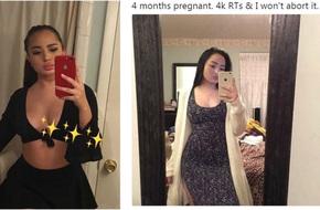 Bà bầu lên mạng dọa phá thai nếu không đủ 4.000 lượt chia sẻ và diễn biến khiến người theo dõi dở khóc dở cười