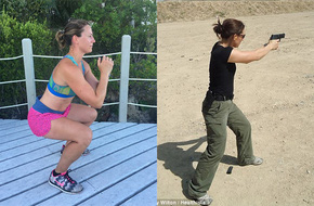 Bí quyết giữ dáng chuẩn để đảm bảo công việc vệ sĩ của một nữ đặc vụ an ninh