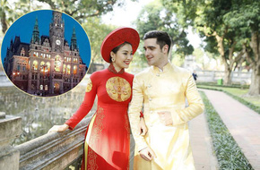 Đám cưới trong lâu đài cổ giữa đất Séc của nữ tiếp viên hàng không xinh đẹp và chàng doanh nhân điển trai