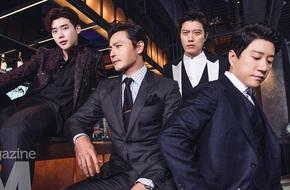 Phim mới của Lee Jong Suk, Jang Dong Gun thống trị phòng vé, dàn sao điển trai ngời ngời trên tạp chí