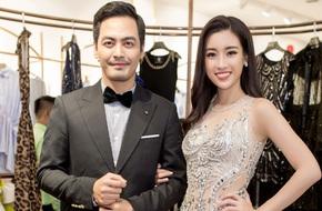 Hoa hậu Đỗ Mỹ Linh tươi tắn hội ngộ MC Phan Anh sau khi trở về từ Miss World