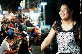 Ghé chợ hàng rong Sài Gòn nghe chuyện phố,