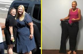 Nếu bạn muốn giảm cân nhưng nghĩ không thể vì do tạng người, hãy học hỏi người phụ nữ đã giảm 90kg này