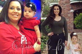 Mẹ một con giảm gần 48kg một cách ngoạn mục để