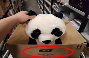 Cậu bé nhận được điều kì diệu bất ngờ từ 1 dòng chữ trên vỏ hộp đựng đồ chơi trong siêu thị