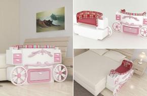 Giường cũi thông minh - món đồ nội thất bà mẹ nào có con nhỏ cũng thích