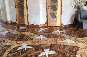 Nhặt cả đống gỗ vụn về cho bẩn nhà nhưng thứ anh chàng này làm được khiến ai cũng ngạc nhiên