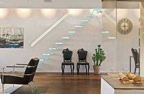 Cầu thang không tay vịn - kiểu cầu thang đẹp 'xuất sắc' cho nhà hiện đại