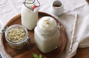 Học người Hàn cách pha latte ngũ cốc thơm lành mát lịm