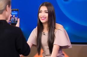 Lệ Hằng nói về lý do khóc nức nở khi phỏng vấn tại Hoa hậu Hoàn vũ 2016