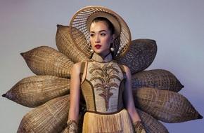 Cuối cùng, Lệ Hằng đã chọn trang phục dân tộc ở Hoa hậu Hoàn vũ đúng như lời đồn