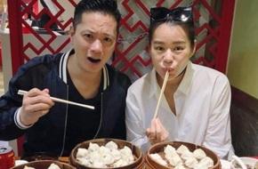 Ông xã Hồ Hạnh Nhi phát hoảng vì khả năng ăn uống của vợ bầu