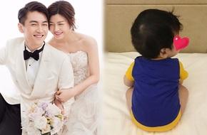 Trần Nghiên Hy lần đầu tiên khoe hình ảnh quý tử 5 tháng tuổi