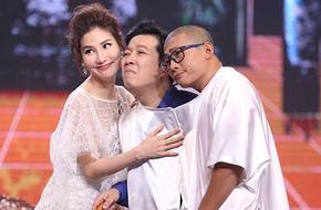 Trường Giang bất ngờ hôn Diễm My 9X trên sóng truyền hình