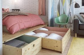 Ý tưởng lưu trữ đồ thông minh trong phòng ngủ