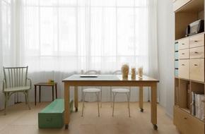 Bất ngờ với căn hộ vỏn vẹn 20m² vẫn đủ các phòng chức năng của vợ chồng mới cưới