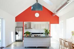 Muốn sở hữu một căn bếp hiện đại thì chẳng thể thiếu được kiểu đảo bếp này