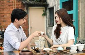 Uống trà bên nhau, Hoa hậu Đặng Thu Thảo và bạn trai chứng minh mối tình son sắt tri âm