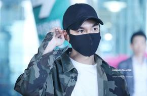 Lee Min Ho đeo khẩu trang kín mít, diện quần rách tả tơi bí mật trở về từ Mỹ