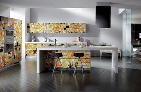 Lối chơi màu mới trong phòng bếp: Chỉ 2 sắc màu thôi là đủ