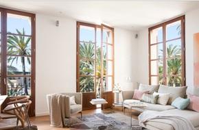 Cách phối gam màu pastel cho phòng khách mang phong cách Scandinavia 'chuẩn không cần chỉnh'