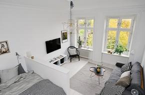 Căn hộ nhỏ xinh chỉ vỏn vẻn 21m² nhưng mỗi góc nhà đều nên thơ đến khó tin