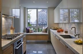 10 nhà bếp dưới đây đã trở nên phong cách hơn nhờ thiết kế ghế ngồi bên cửa sổ