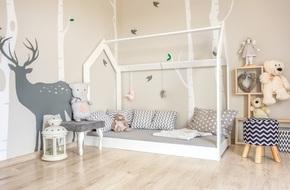 Giường gác mái - món nội thất dành riêng cho bé xinh đến ngẩn ngơ