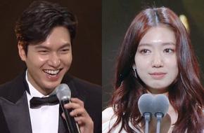 """Lee Min Ho, Park Shin Hye thắng giải Diễn viên xuất sắc nhất, Jun Ji Hyun bất ngờ """"tay trắng"""""""