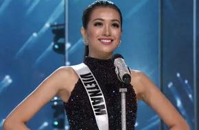 Á hậu Lệ Hằng tự tin nổi bật trong nhóm thí sinh châu Á tại đêm bán kết Hoa hậu Hoàn vũ 2017