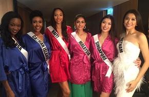 Hé lộ 2 ngày đầu tiên của Lệ Hằng tại Hoa hậu hoàn vũ 2016