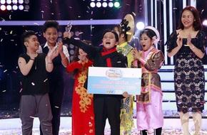 Vượt mặt con gái Trang Nhung, 'ốc mỡ' Thụy Bình xuất sắc giành ngôi vị quán quân 'Gương mặt thân quen nhí 2017'
