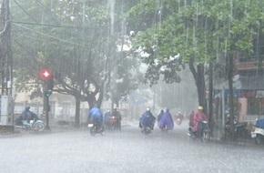Áp thấp nhiệt đới gây mưa to đến rất to ở Đông Bắc Bộ