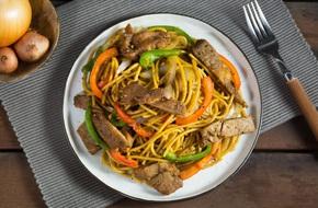 Việt hóa món Tây với spaghetti sườn ram tiêu ngon bá cháy