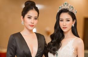 Nam Em xinh đẹp lộng lẫy, trao vương miện cho Hà Thu thi Miss Earth 2017