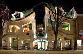 Những ngôi nhà kỳ dị khiến bạn nhìn lại vì tưởng thế giới méo mó hết cả rồi