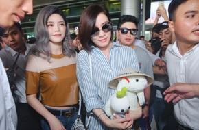 Xa Thi Mạn được lòng người hâm mộ Việt với thái độ cực thân thiện