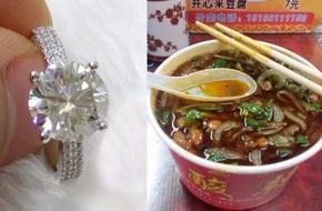 Đại gia cầu hôn bạn gái bằng chiếc nhẫn kim cương trị giá