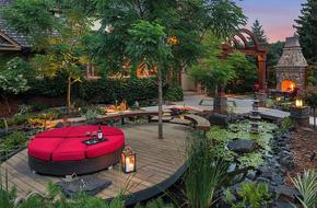 Những khu vườn đẹp mang đậm phong cách Á Đông huyền bí