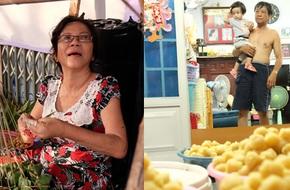 Xóm làm bánh ú tro nức tiếng Sài Gòn gói cả ngày, nấu cả đêm dịp Tết Đoan Ngọ