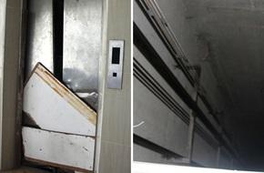 Vừa sống vừa run trong chung cư có thang máy hỏng bị rút ruột, sâu hun hút chờ