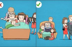 Những bức tranh khiến bạn phải nghĩ lại về các bí quyết hôn nhân tưởng 100% là đúng!