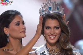 Hoa hậu Pháp đăng quang Hoa hậu Hoàn vũ 2016