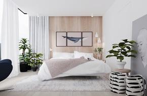 17 thiết kế phòng ngủ với gam màu trắng khiến bạn không thể không yêu