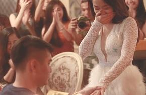 Chủ động lên kế hoạch cầu hôn bạn trai, cô gái xinh đẹp tự nhận