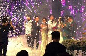 """Tròn mắt với """"siêu đám cưới"""" 10 tỷ: Mời toàn sao hạng A, tiệc cưới tại nhà hàng 5 sao... dựng trong 1 tuần"""