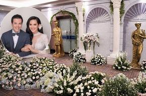 Choáng trước đám cưới xa hoa hơn 10 tỷ đồng của người đẹp Hoa hậu Hoàn vũ 2015 và