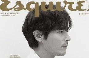 Quý ông U50 Jang Dong Gun đẹp trai bất chấp tuổi tác trên bìa tạp chí