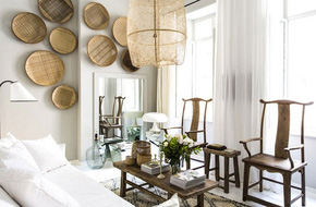 Vừa mộc mạc, vừa cá tính, căn hộ này được trang trí bằng những thứ bạn không tưởng đến