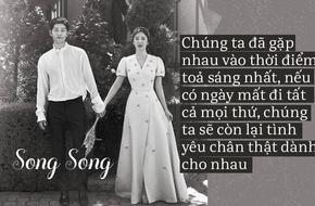 Đi hưởng tuần trăng mật, cô dâu Song Hye Kyo vẫn chu đáo gửi lời cám ơn sau đám cưới